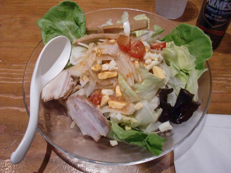 ぽっぽっ屋@晴海・冷やしサラダ麺