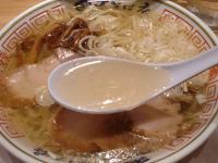 田中そば店@末広町・冷やし・スープ