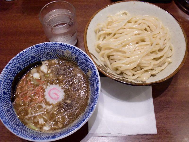 鈴蘭@新宿三丁目・海老つけ・海老つけ麺