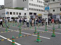 マタトール@つけ麺博2012・行列