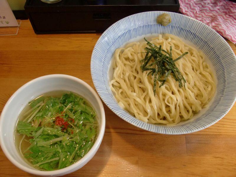 灯花@四谷三丁目・塩つけ麺・塩つけ麺