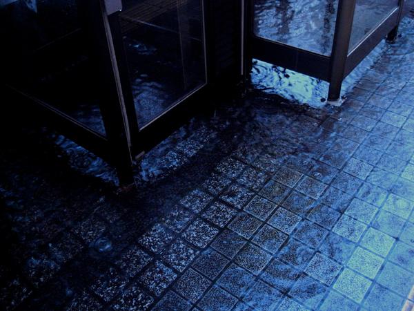 雨の宇都宮