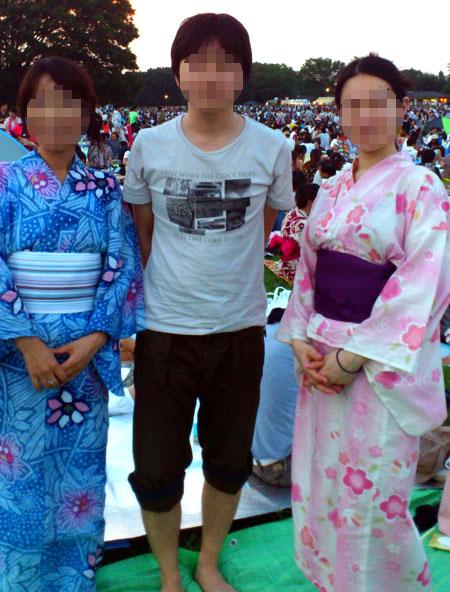 2012立川花火記念撮影
