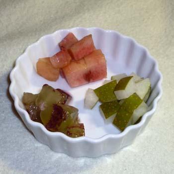 20120902:一周年記念の果物