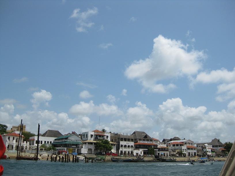 船から眺めたラムの街