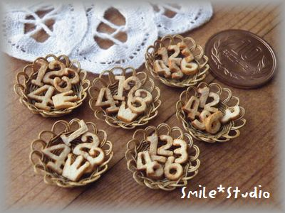 数字型クッキー1