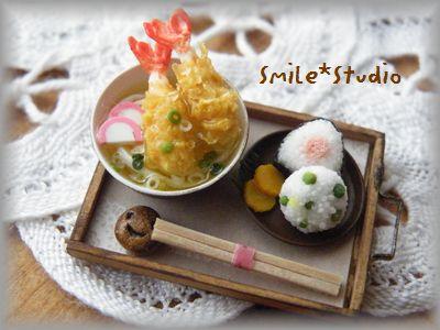 天ぷらうどん1