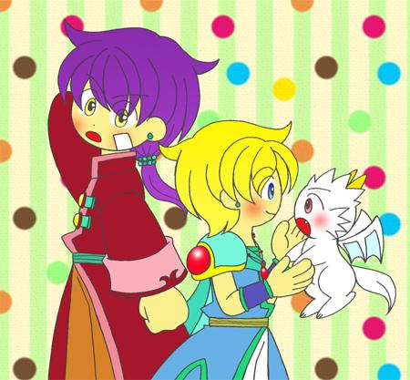ランクとケイトとスカちゃん