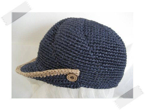 男の子の帽子