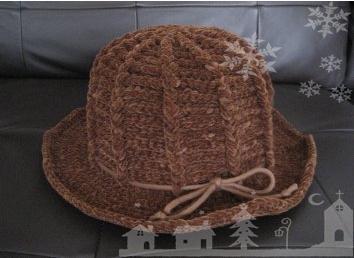 ルナの帽子 茶