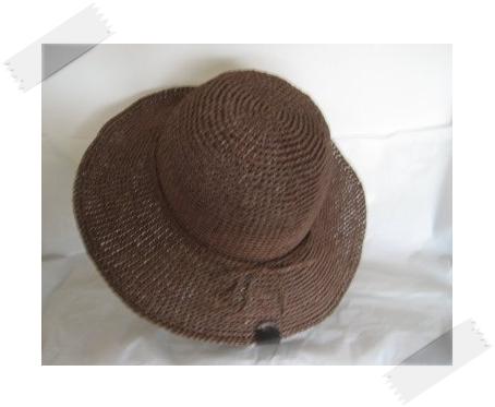 エコアンダリヤ #159 帽子2