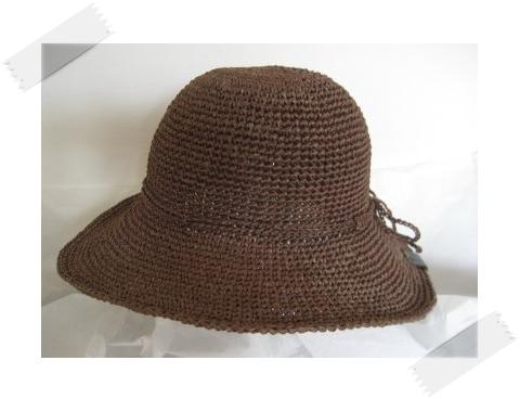 エコアンダリヤ #159 帽子