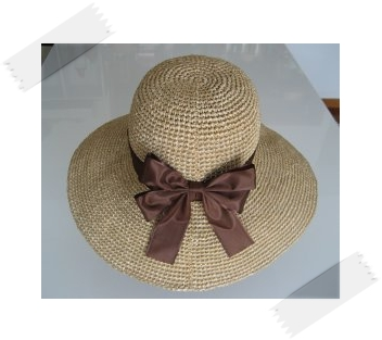 リボンの帽子2