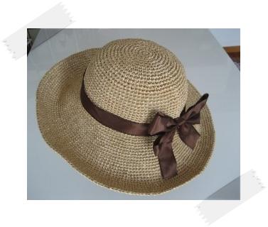 リボンの帽子1