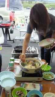 鍋用意です。