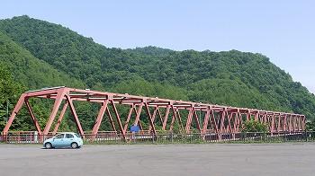 さっぽろ湖付近の橋