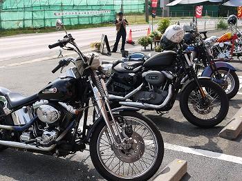WHOTのバイク達