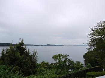 浜名湖S.A.からの景色