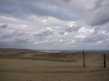 砂丘どす。