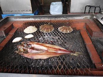 海鮮BBQスタート