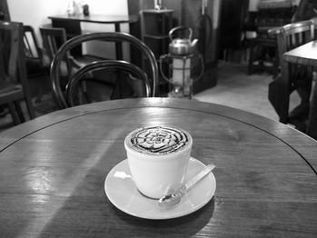 またもやカフェ・ラテ