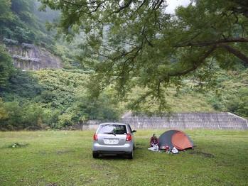 キャンプ設置