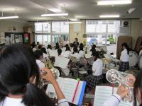 10.6.30 新居浜東高校ブラスバンド2