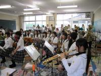10.6.30 新居浜東高校ブラスバンド3