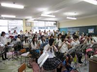 10.6.30 新居浜東高校ブラスバンド4
