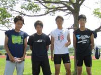 10.7.23 新居浜東高校陸上部のインターハイ出場選手