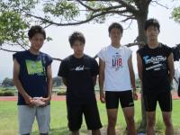 10.7.23 新居浜東高校陸上部のインターハイ出場選手2