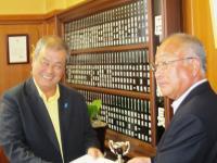 10.7.26 西原県議会議長への申し入れ2