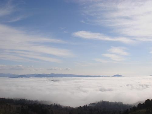 美幌峠 雲海