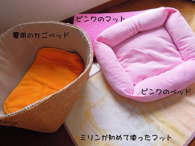ミリンのベッド