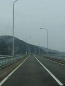 大飯原発へ向かう橋2