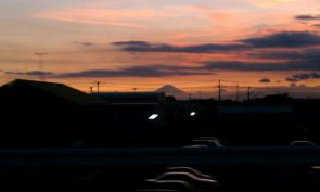 房総方面からの富士山1