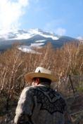 富士山とアレハンドロ長老