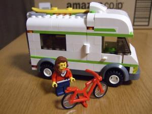 レゴ シティ レゴの町 キャンピングカー 7639