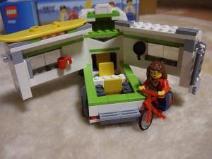 中はこんな感じ。自転車お気に入り!