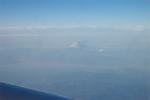 飛行機からの富士山20140103
