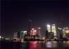 黄浦江から上海タワー