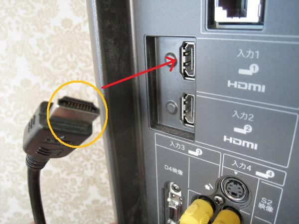 HDMIテレビ側