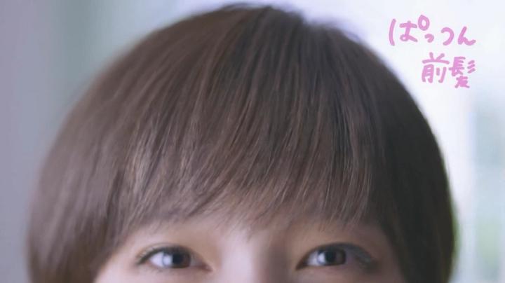 2代目【GTO】神崎麗美(本田翼)花王ケープCMに登場!「パッツン前髪」