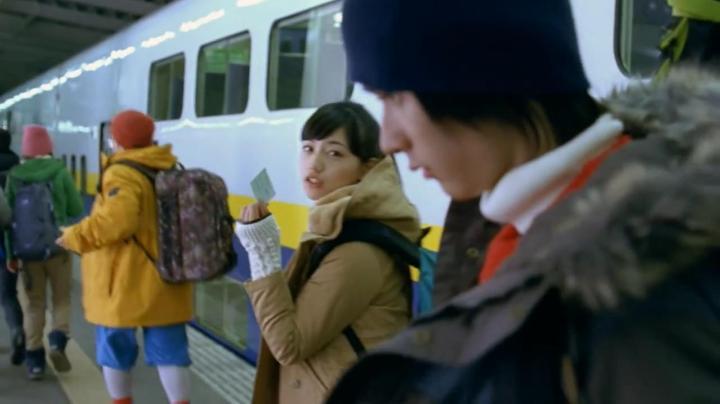 JR SKI SKIのCM、神崎から雅へ…雅が友人に「ダッサ」