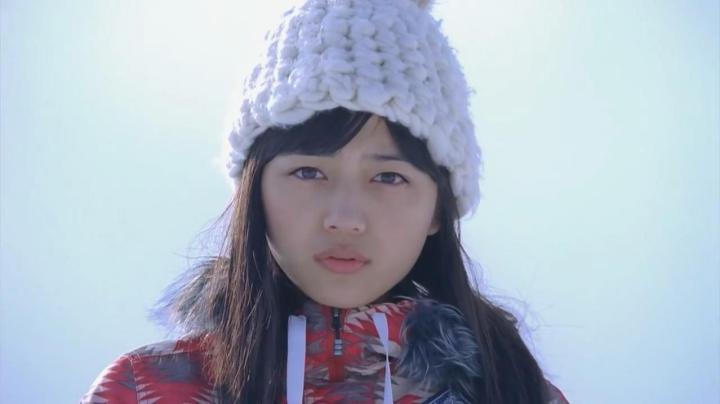 JR SKI SKIのCM、神崎から雅へ…雅の目が釘付けに…