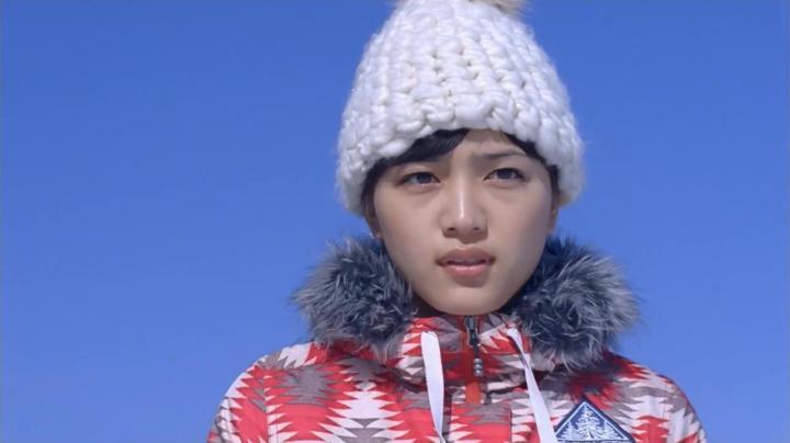 JR SKI SKIのCM、神崎から雅へ…男の子に挑戦状を…