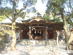 高津宮 本殿