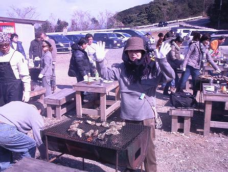 牡蠣(かき)を食べに行ってきました