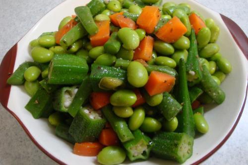 100627-020野菜と豆のガーリックマーガリン炒め(縮小)
