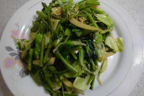 100821-031空芯菜とキャベツの炒め(縮小)